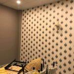 Giấy dán tường quán ăn cao cấp phòng VIP ARTE 4411-2