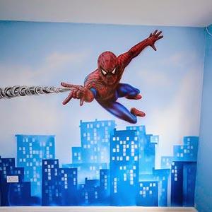 Giấy dán tường phòng bé trai